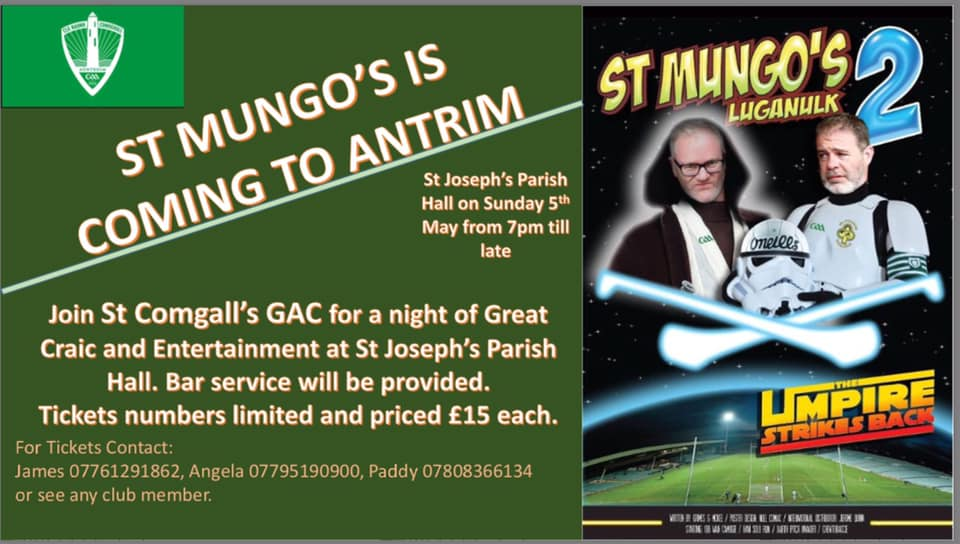 St Mungo's is coming to Antrim