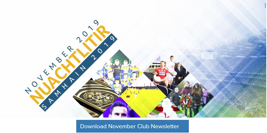 GAA Club newsletter