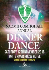 Naomh Comhahall Annual Dinner Dance 2016